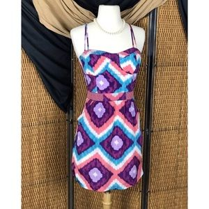 American Eagle Outfitters Ikat Festival Dress